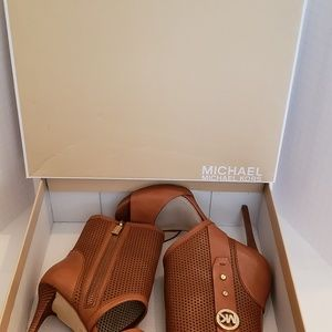 100% Leather Bootie by Michael Kors